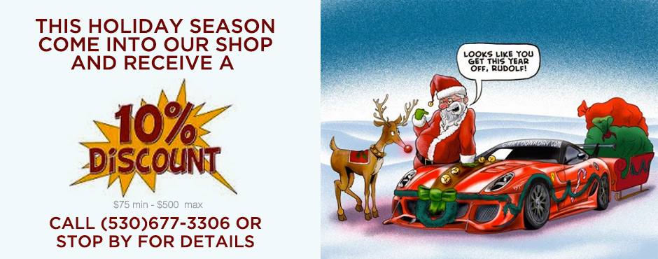 10% Off Auto Repair This Holiday Season